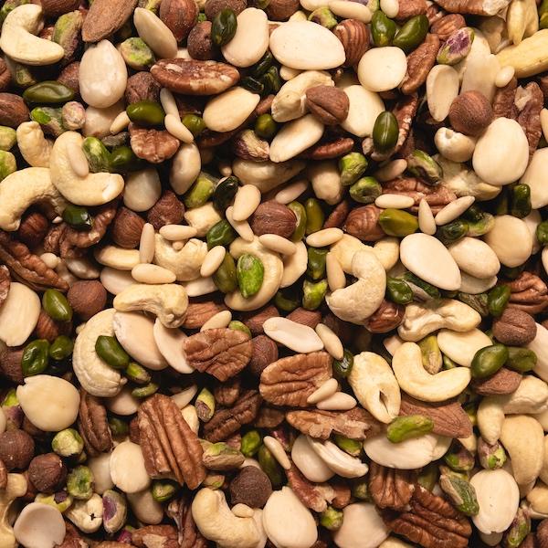semi noci pecan frutta secca zinco